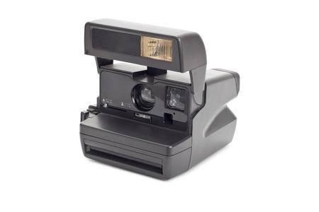 photocamera: photocamera isolated on white
