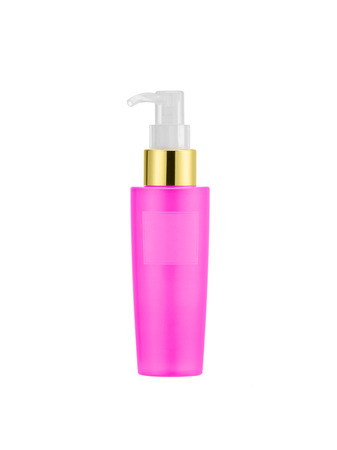 Bottle of liquid soap isolated on white Stock Photo - 27165798