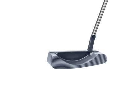 putter: Small golf stick isolated
