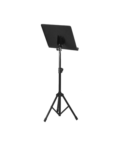 orchestration: Music stand isolated on white