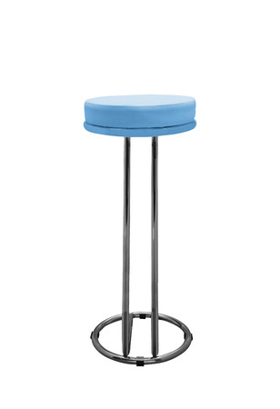 Bar stool isolated on white background photo