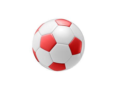 brand activity: red football ball