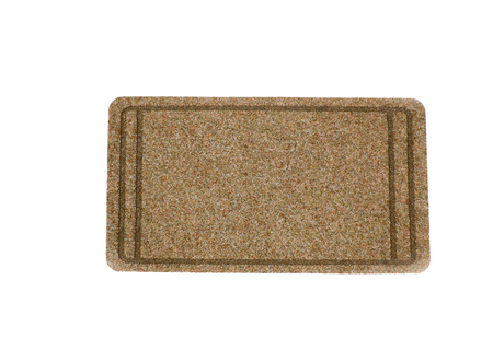 The Doormat isolated on white background photo