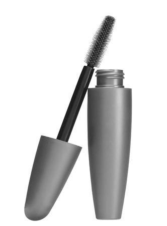 indian paint brush: makeup inks brush isolated on white background