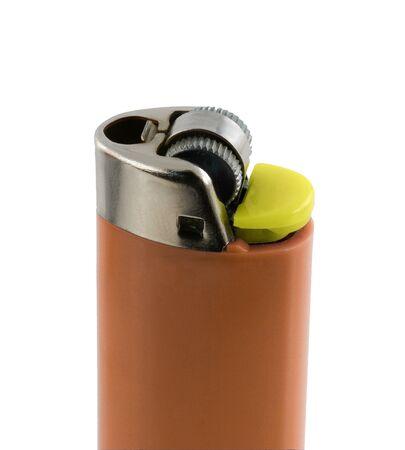 cigarette lighter: nice cigarette lighter isolated on white background