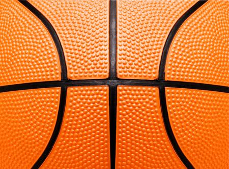 バスケット ボールのクローズ アップ ショットまたはテクスチャ