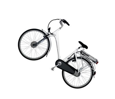 racing bike: racing bike isolated