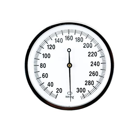 sphygmomanometer: close up view of a sphygmomanometer Stock Photo