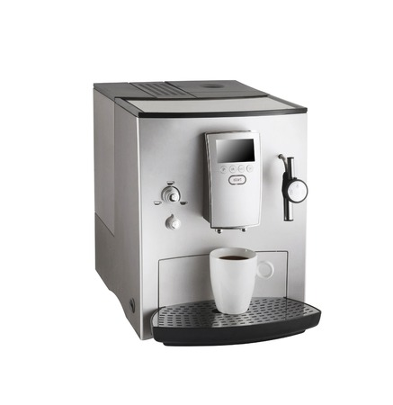 Expresso coffee machine Reklamní fotografie