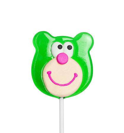 lolli: Sweet lollipop of a bear head