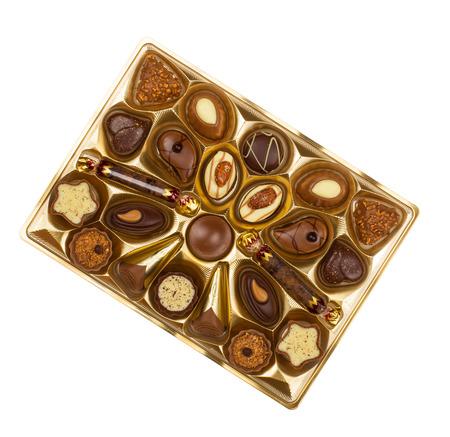 Box of Chocolate Candy photo