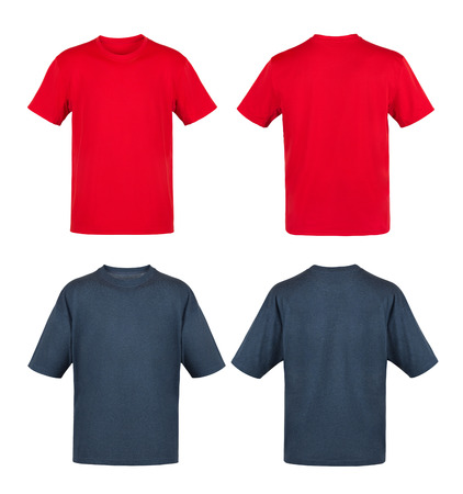 black and red t-shirts