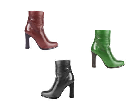 women in boots: Set of women boots