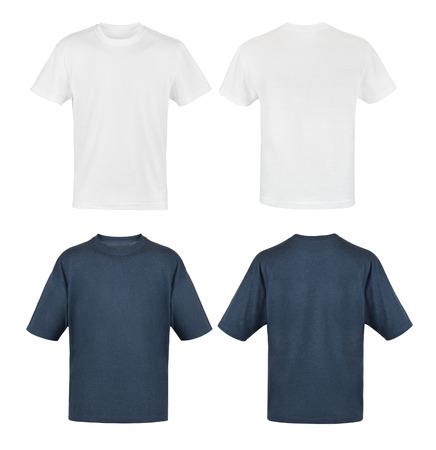 camisas: plantilla de la camisa masculina, blanco y negro