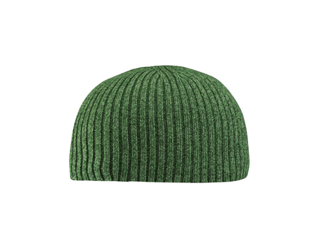 leisure wear: green hat isolated on white