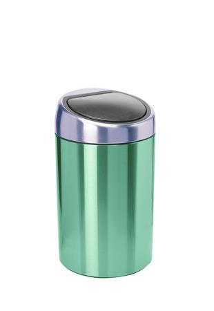 refuse: Refuse bin isolated on white background Stock Photo