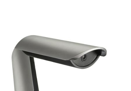 technologic: Road camera isolated on white
