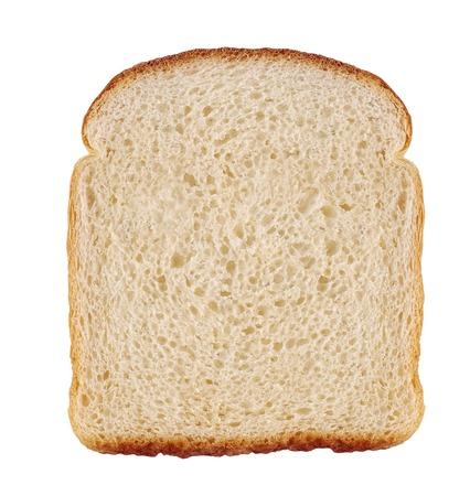 pain: Tranche de pain Banque d'images