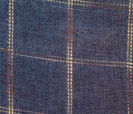 squared: squared textile texture for background isolated in the closeup