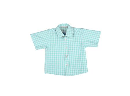 mans: Mans cotton plaid shirt