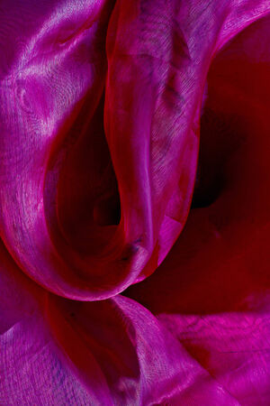 tender tenderness: Shiny purple satin