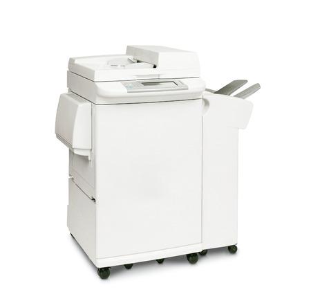 digital printer: Modern digital printer Stock Photo