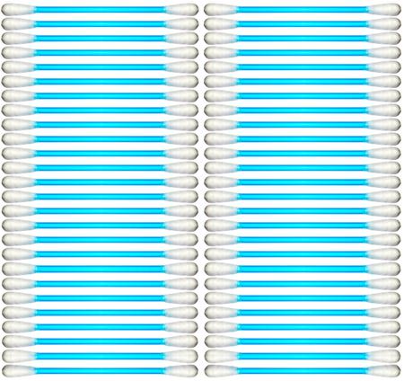 wadded: Wadded sticks isolated on white background