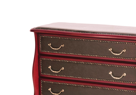 drawers: Chest of Drawers isolated Stock Photo