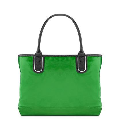 reusable: Green, reusable shopping bag