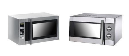 microwave ovens: microwave ovens on background