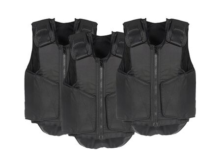 vest in isolated: Bulletproof vest. Isolated on white.