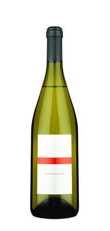 bouteille de vin: Bouteille de vin isolé