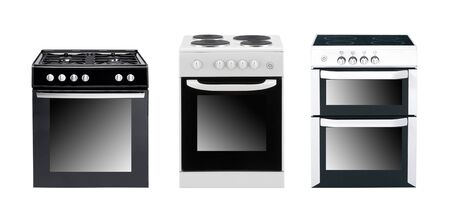 commercial kitchen: different cooker oven