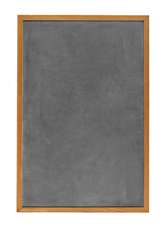 blank chalkboard: Blank chalkboard in wooden frame isolated