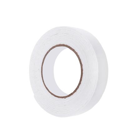 masking: roll of masking tape on white