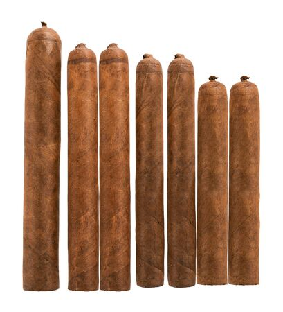 cigars: isolated cigars all sizes
