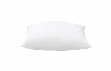 pillow case: pillow isolated on white