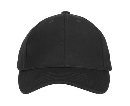 baseball caps: Front View of Black Cap