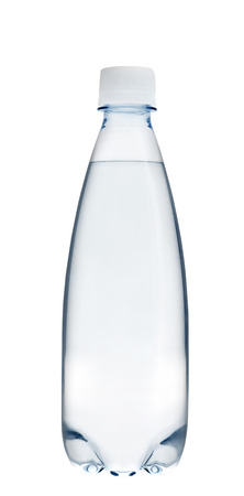 glass bottles: Small glass water bottle