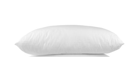 white pillow: white pillow isolated on white