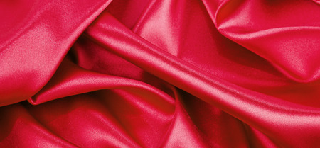 lustrous: red silk background or texture