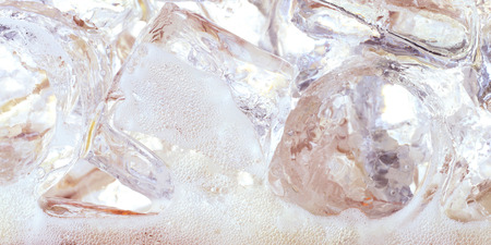 soda with ice and bubble Banco de Imagens - 98620660