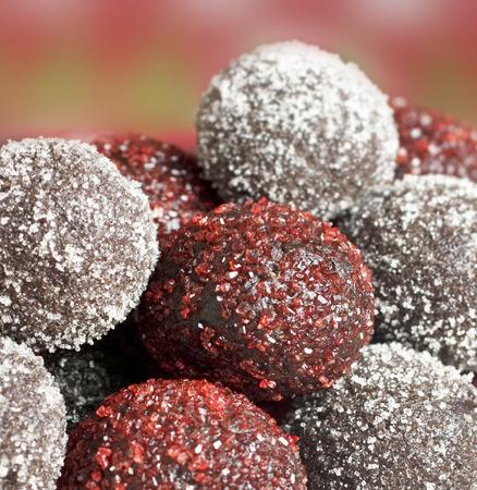 Close up of Coconut Balls