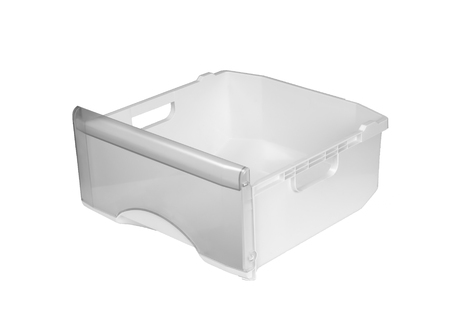 box Plastic container isolated on white Banco de Imagens - 101130648
