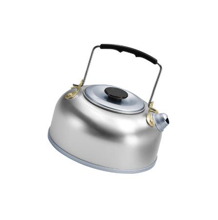 kettle isolated on white background Stock Photo