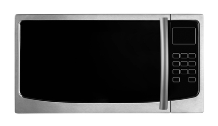 Microwave stove isolated Stock Photo