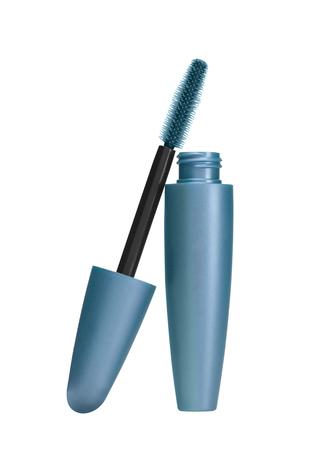 makeup inks brush isolated on white background