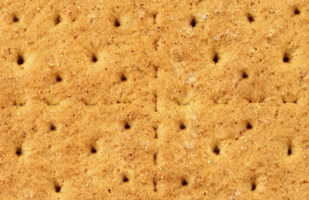 Graham cracker background or texture