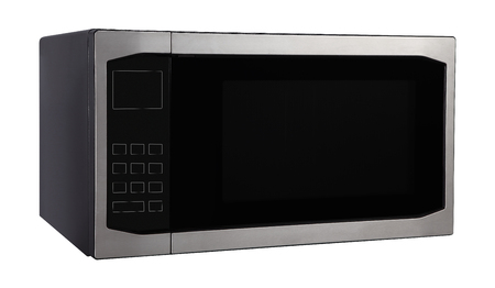 microwave oven isolated