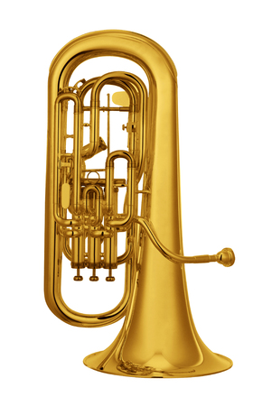 horn isolated on white
